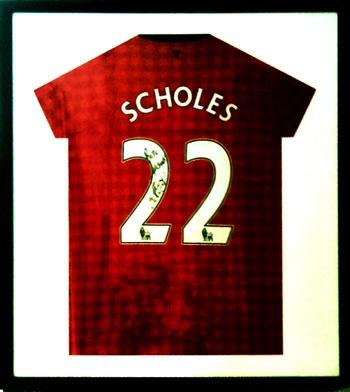 scholes shirt