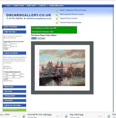 New Frame Maker site