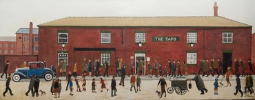 Lowry at the Taps Lytham by Anthony Fowler