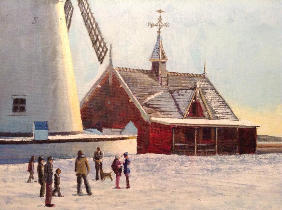 Lytham Windmill Winter