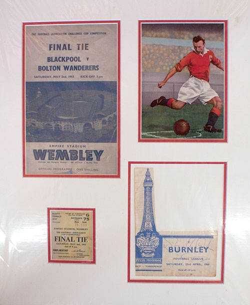 Final Tie Blackpool Vrs Bolton Wanderers 1953