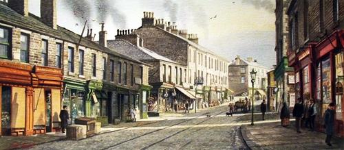 Bank Street - Rawtenstall Circa 1910