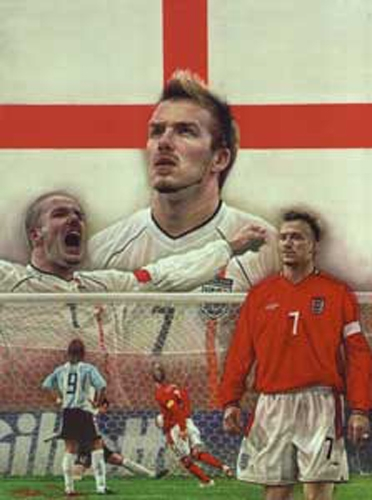 David Beckham - England Legend