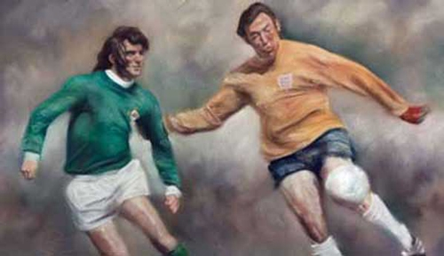 George Best Vrs Gordon Banks