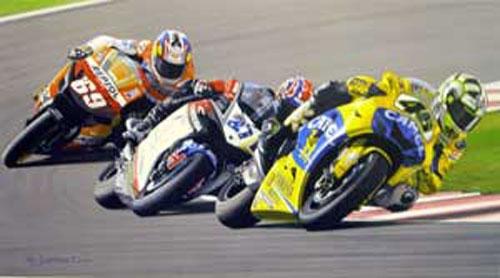 Desert Storm - Valentino Rossi