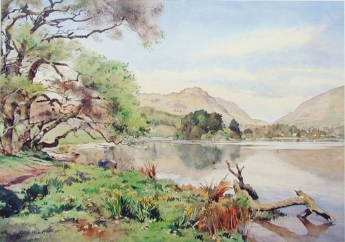 Grasmere with Helm Cragg