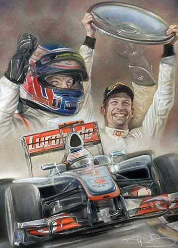 Victory Down Under 2012 - Jenson Button