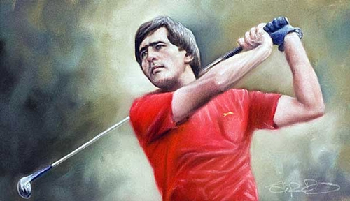 Seve Ballesteros Champion