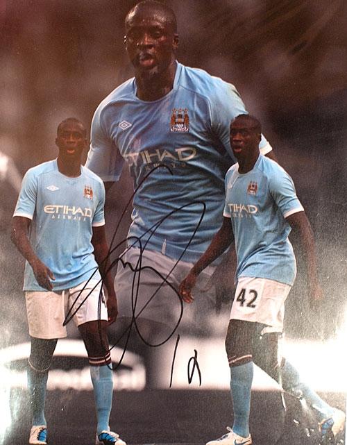 Ya Ya Toure - Manchester City