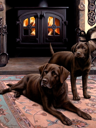 Chip Off The Old Block - Chocolate Labradors