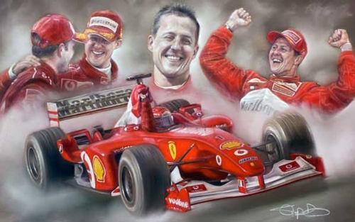 Michael Schumacher - Ferrari's FInest