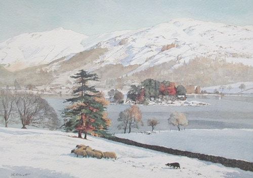 Hard Winter - Grasmere