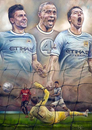 Fantastic Four - Manchester City