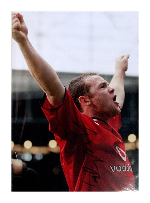 Wayne Rooney Manchester United Hero