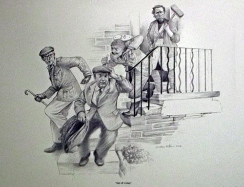 Get off M' Steps