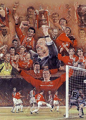 Si Alex Ferguson 11 The Treble