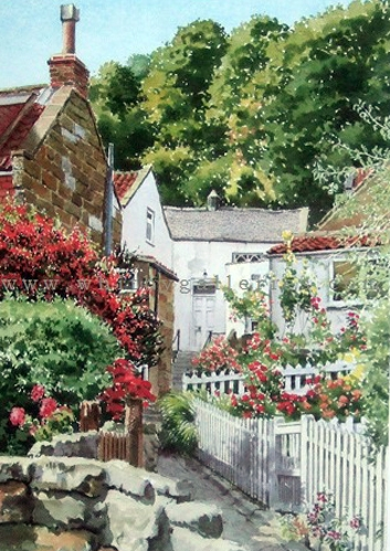 Cottage Gardens - Runswick Bay