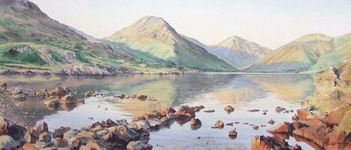 Evening Calm Wastwater - Cumbria