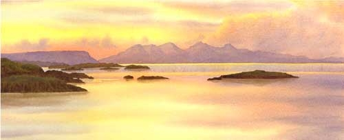 Isle of run from Arisaig