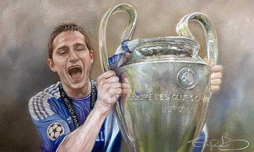 Frank Lampard - Chelsea - Champions League
