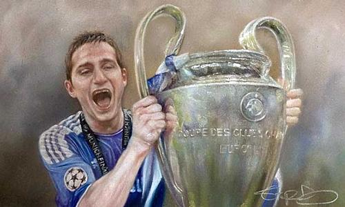 Frank Lampard - Chelsea - Champions League