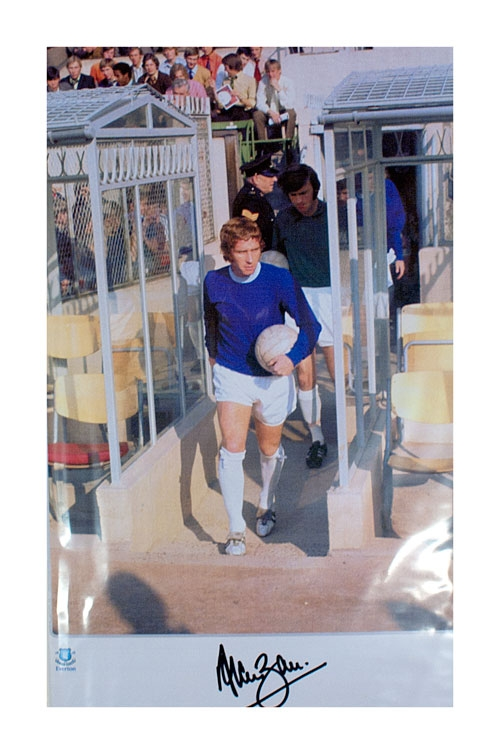 Alan Ball Of Everton & England