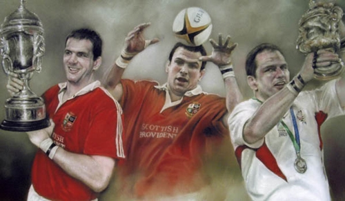 Martin Johnson - England Hero