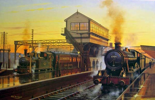 Departures at Leominster