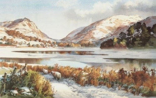 Winter Walk to Grasmere (Medium Size)