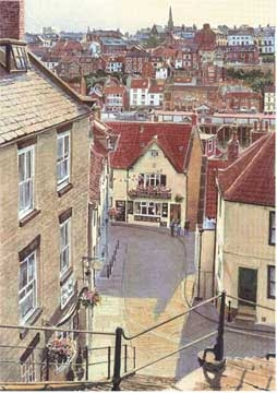 View from the steps - Whitby