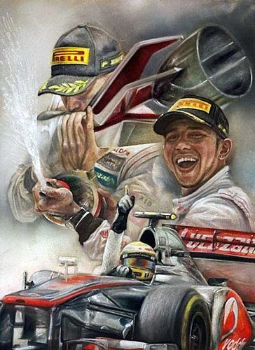 Victory In Canada 2012 - Lewis Hamilton