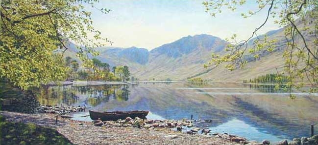 Buttermere from Dale Garth