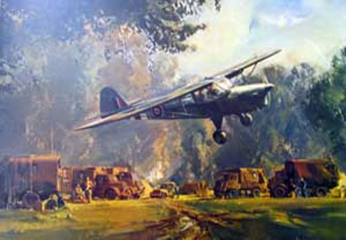 Auster in Normandy