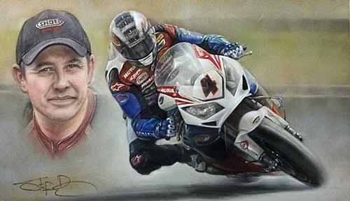 John McGuinness - Honda Legend