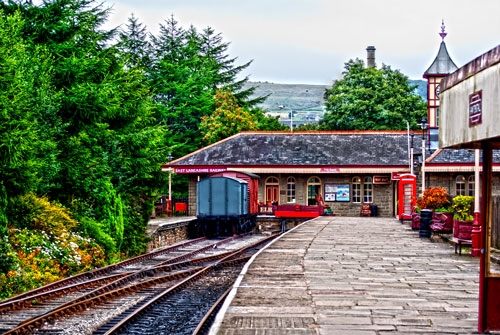 Rawtenstall Train Station