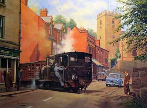 Llanfair Train Welshpool