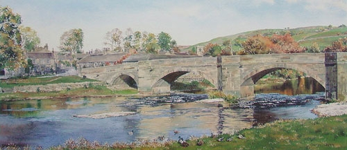 Autumnal Reflections - Burnsall