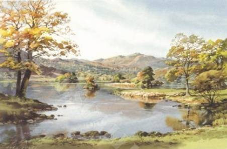Silver Howe, Rydal Water - Medium Print