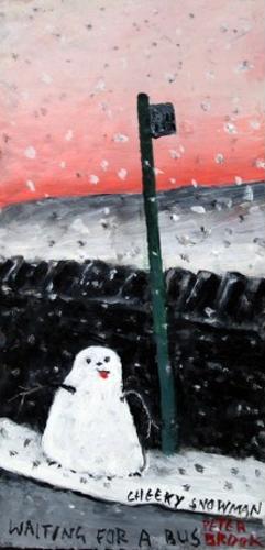 Cheeky Snowman