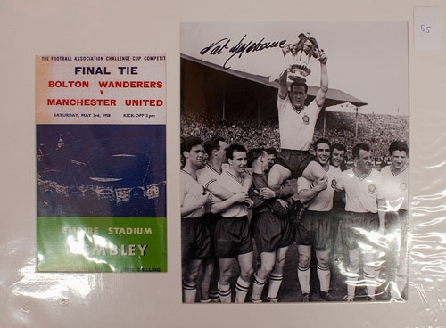 FA Cup Final 1958 Bolton Vrs Manchester United