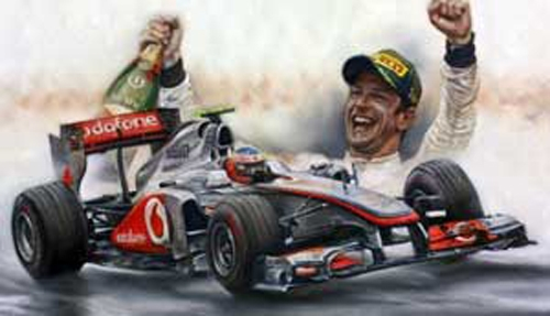 Victory In Canada 2011 - Jenson Button