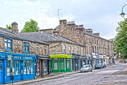 Bank Street Rawtenstall