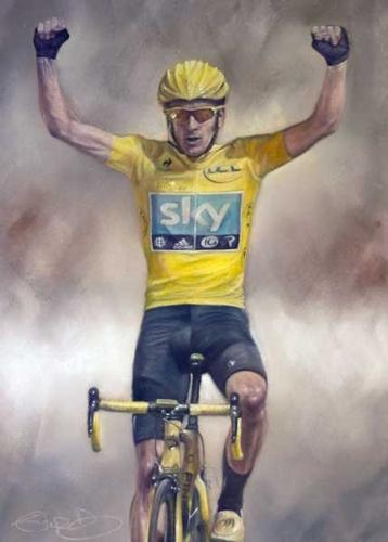Bradley Wiggins - 2012 Tour De France Winner