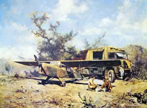 654 Squadron Auster