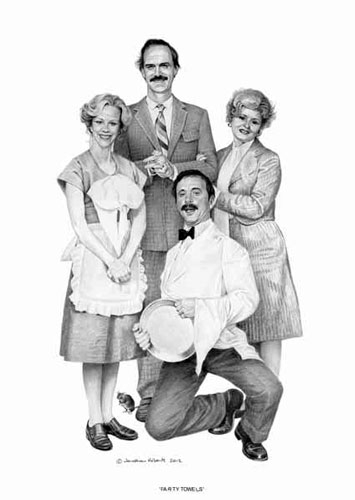 Farty Towels (Fawlty Towers)