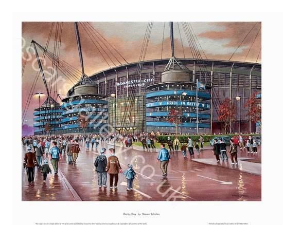 Derby Day - Manchester City Etihad Stadium