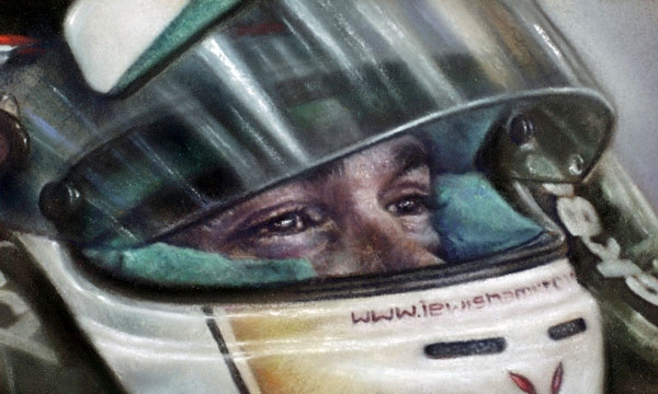 Lewis Hamilton in the eyes of a Champion
